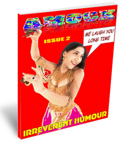 Product picture Amock Comedy Magazine Issue 2