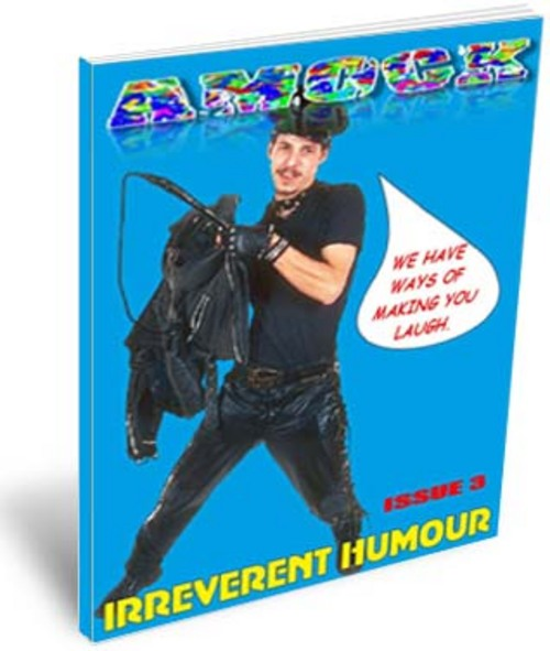 Product picture Amock Comedy Magazine Issue 3