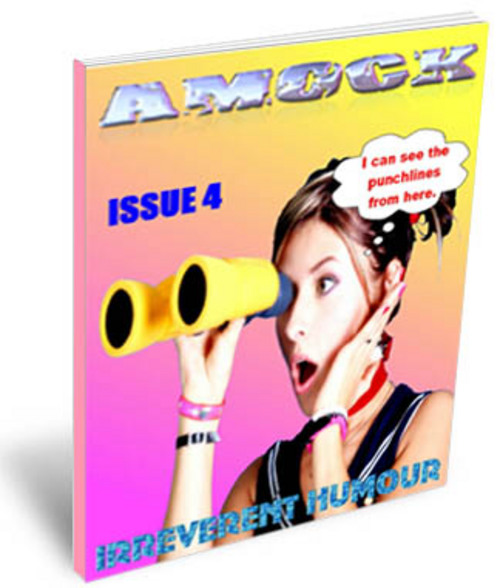 Product picture Amock Comedy Magazine Issue 4