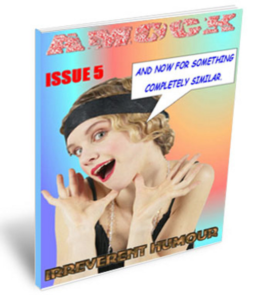 Product picture Amock Comedy Magazine Issue 5