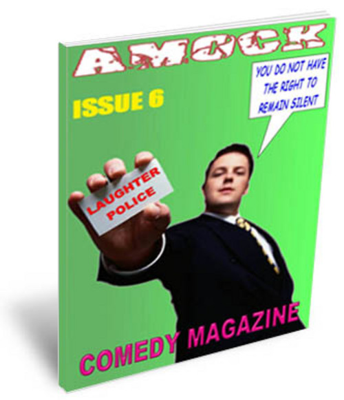 Product picture Amock Comedy Magazine Issue 6