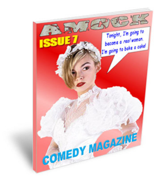 Product picture Amock Comedy Magazine Issue 7